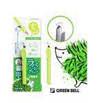 GREEN BELL - 不滑手拔毛夾【兩用】夾頭-綠-1入