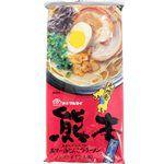 Japanese snacks - 丸太 熊本黑麻油豚骨拉麵-186g