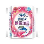 SOFY - 瞬吸加長超薄護墊-天然無香-28片/包