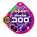 UHA - UHA味覺糖 純正100%果汁軟糖-紫葡萄-40g