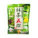 Japanese snacks - 扇雀飴抹茶五撰糖-55g