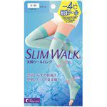日本直購專區 - 【夏季限定】slim walk夏季涼感階段式加壓美腿睡眠襪