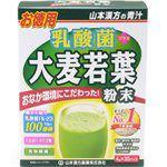 Japan buyer - 山本漢方乳酸菌大麥若葉青汁-4g*30包