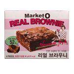 異國零食 - MarketO 巧克力布朗尼蛋糕-4入