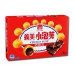 義美 - 小泡芙量販包(3入/盒)- 巧克力-3包