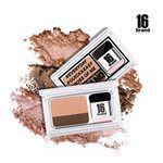 MYHUO Makeup Collection - 16 brand 懶人眼影 迷你雜誌漸層雙色眼影-1入