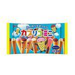 Japanese snacks - Glico 格力高 綜合迷你甜筒餅乾-87g