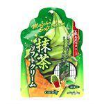 Japanese snacks - 扇雀飴本舗抹茶冰淇淋糖-70g