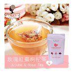 Natural Herbal Tea - 玫瑰紅棗枸杞茶-10入