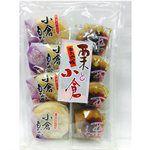 Japanese snacks - 津具屋栗子紅豆最中-304g