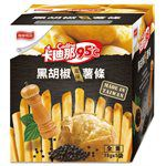 MyHuo Recommended Snacks - 卡迪那95℃黑胡椒風味薯條-18gx5包