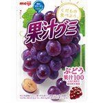 Meiji - 果汁QQ軟糖- 葡萄-51g