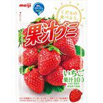 Meiji - 果汁QQ軟糖- 草莓-51g