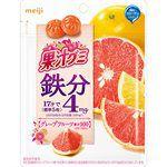 Meiji - 果汁QQ軟糖- 葡萄柚-68g