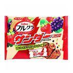 Japanese snacks - Calbee女雷神水果穀物燕麥巧克力棒-126g