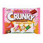 LOTTE - Crunky脆心巧克力分享包(合格祈願限定版)-118.8