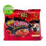 MyHuo Recommended Snacks - Samyang三養 激辛火辣雞肉風味鐵板炒麵-2倍辣特別版-5包/袋