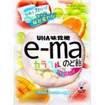 UHA - e-ma七彩水果喉糖-袋裝-50g