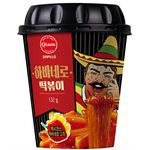 MyHuo Recommended Snacks - 韓味不二 辣炒年糕冬粉杯裝- 極辣口味-132g