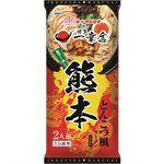 Japanese snacks - 丸太 熊本一幸舍豚骨拉麵-182g