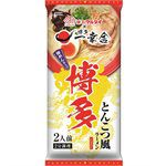 Japanese snacks - 丸太 博多一幸舍豚骨拉麵-185g