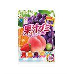 Meiji - 果汁QQ軟糖綜合袋裝-90g