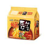MyHuo Recommended Snacks - 韓國 八道Paldo 極地麻辣拉麵(切達起司味)-127gx4