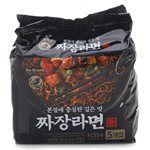 異國零食 - 韓國NOBRAND 經典炸醬拉麵-5包