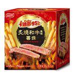 聯華食品 - 卡迪那95℃炙燒和牛風味薯條-18gx5包