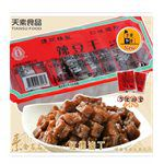 MyHuo Recommended Snacks - 天素 辣豆乾(紅標滷丁)-20gx9入