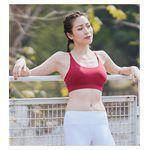 sexy in shape - Sportsgirl Y字美背運動內衣-紅