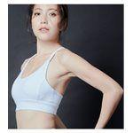 sexy in shape - Sportsgirl Y字美背運動內衣-白