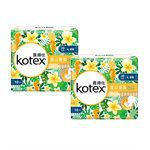 Kotex - 暖心香氛梔子花衛生棉夜用超薄- 28cm-10片x2包