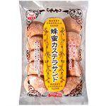 Japanese snacks - 万国屋 古早味蜂蜜夾心蛋糕-165g