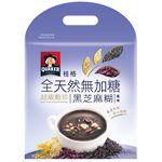 QUAKER - 全天然100%無加糖超級穀珍系列-黑芝麻糊-23.5gx10入