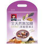 桂格 - 全天然100%無加糖超級穀珍系列-黑穀堅果-23gx10入