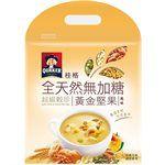 QUAKER - 全天然100%無加糖超級穀珍系列-黃金堅果-25gx10入
