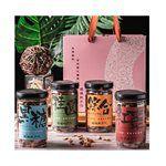 暖暖純手作 - 【新年禮盒】美麗時光禮盒組-黑糖桂圓+沖泡罐-320g