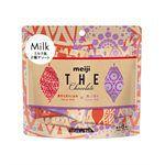 Meiji - 可可原生頂級牛奶巧克力-原味與溫醇奶香口味-40g