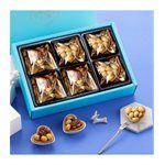 MyHuo Recommended Snacks - 【新年禮盒】鴻鼎菓子 雙星堅果塔禮盒(預計1/6陸續出貨)-1組
