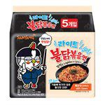 湯 / 乾拌麵 - Samyang三養 火辣雞肉風味鐵板炒麵(輕量版)-5包/袋