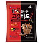 買貨推薦零食 - 海苔魚乾脆片- 辣味-20g
