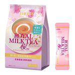 日本零食館 - 日東紅茶皇家奶茶-櫻花風味-140g