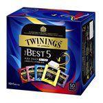 日本直購專區 - TWININGS 英國唐寧Best 5綜合茶包-50袋