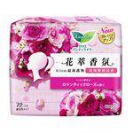LAURIER - 花萃香氛0.1cm護墊- 玫瑰櫻桃清香-72片
