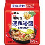 湯 / 乾拌麵 - 農心 海鮮湯麵-4入