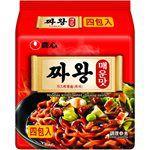 湯 / 乾拌麵 - 農 心 炸王醡醬麵- 辣味-4入