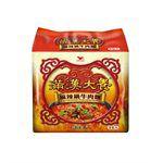 湯 / 乾拌麵 - 滿漢大餐 麻辣鍋牛肉麵-3包/袋