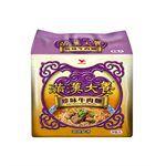湯 / 乾拌麵 - 滿漢大餐 珍味牛肉麵-3包/袋