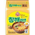 湯 / 乾拌麵 - 韓國不倒翁 芝麻拉麵-4入